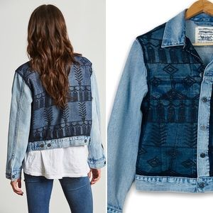Levi's Made & Crafted Embroidered Trucker Jacket M